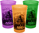 22oz Translucent Stadium Cups